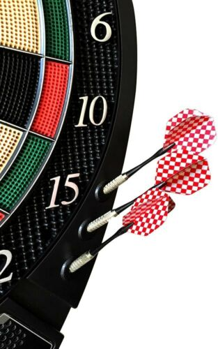 2-Set Electronic Soft Tip Lightweight with Electronic Scoring Dartboard 1.1 in