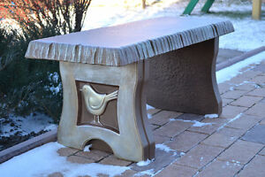 concrete garden bench. Image Is Loading MOLD-BENCH-LEG-MOULD-CONCRETE-GARDEN-BENCHES-B01 Concrete Garden Bench