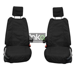 Sitzbezüge schwarz vorne KOS FIAT PUNTO EVO