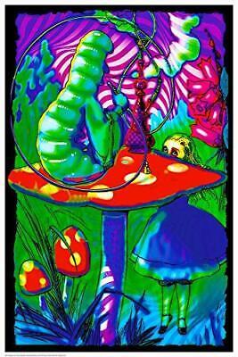 Laminated Non-Flocked Blacklight Reactive Poster 24.5 x 36.5 Spellbound Cobra