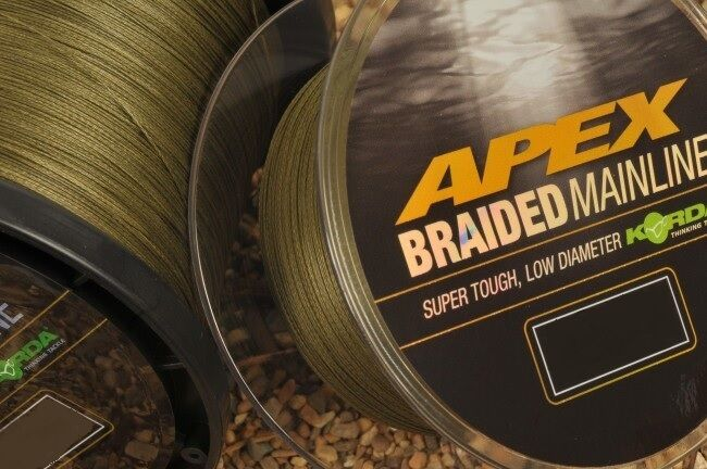 Korda Apex Braided Mainline 1200m Cord Braided Cord Braid voiturep Line