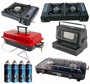 PORTABLE-HEATER-DOUBLE-GAS-DUAL-2-BURNER-CAMPING-COOKER-FISHING-BBQ-STOVE-W-GAS