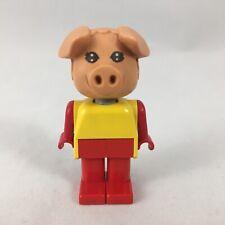 Lego Fabuland Figur Max Maus der Gärtner mit Schubkarre