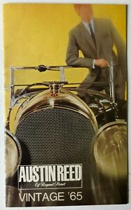 Vintage Austin Reed Regent Street 1965 Clothing Catalog Brochure Booklet Suits Ebay