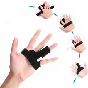 Finger-Fixing-Support-Splint-Straightener-Brace-Strap-Trigger-Pain-Relief-G9Z