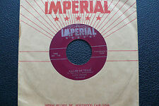 """7"""" Fats Domino - Valley Of Tears - USA Imperial"""