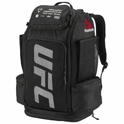 Reebok UFC Backpack Bag Training Gym Sport Black CE4130 NEW