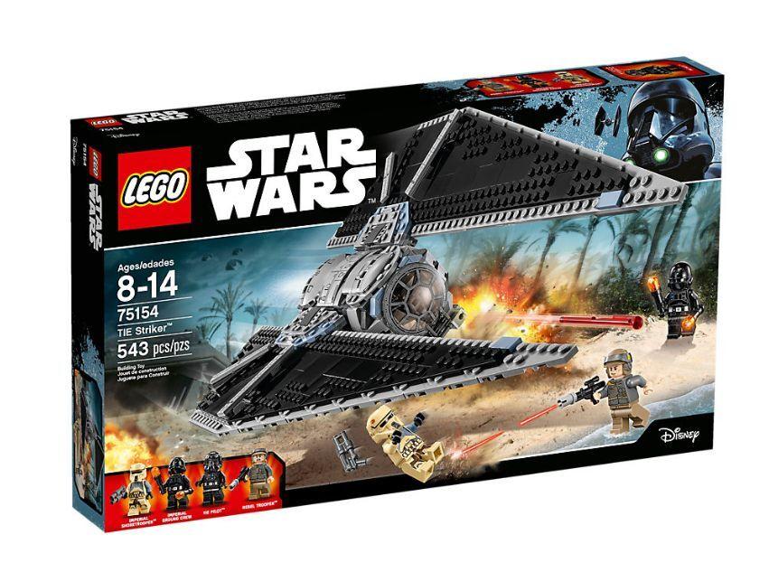 LEGO STAR WARS TIE STRIKER SET 75154 ROGUE ONE NOVEDAD NEW