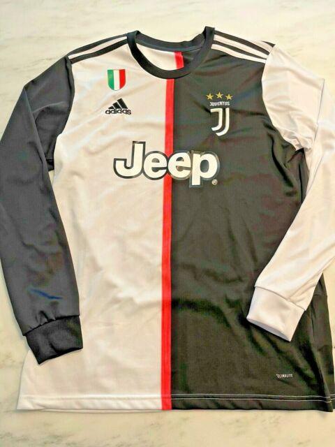 RARE Juventus Home Jersey 2019-2020 Long Sleeve L