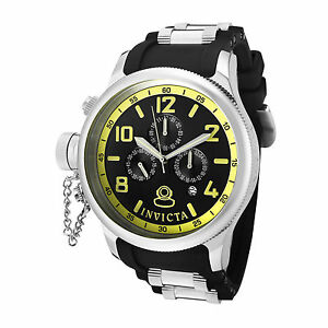 Invicta-Watch-1798-Mens-Russian-Diver-Black-Dial-Black-Polyurethane