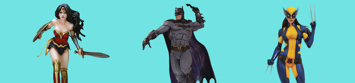 Shop Comics Figurines