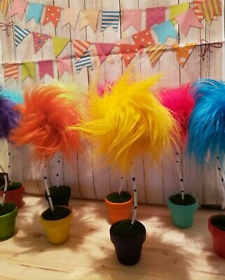 1 Dr Sues inspired Truffula Trees Party Birthday decor prop Office House Gift