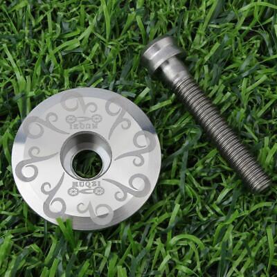 Road Bike Bicycle Aluminum Alloy Stem Top Cap Cover Bolt Screw Headset Acce I6I8