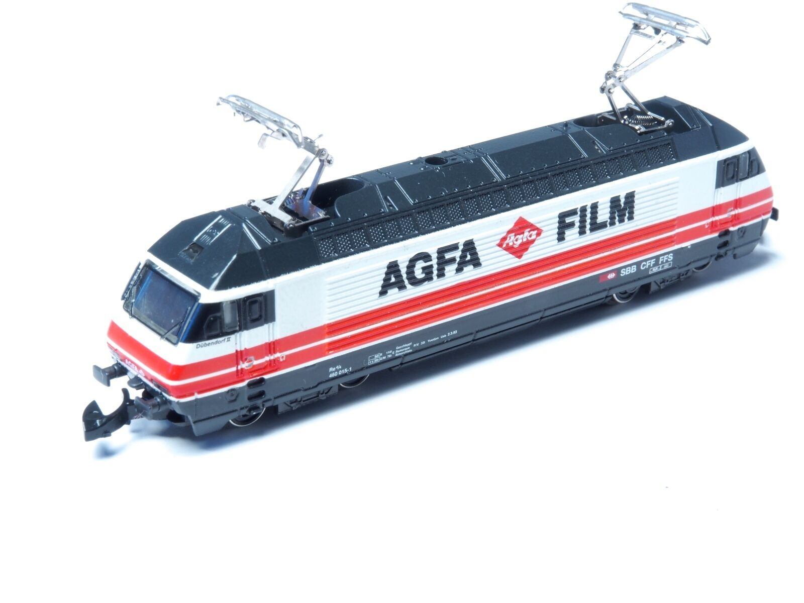 88442 Marklin Z-Scale Classe Re 460 Swiss SBB   Agfa Film   Annuncio