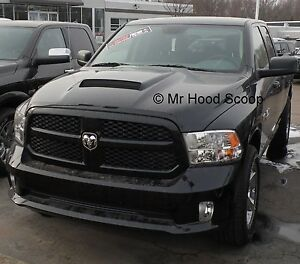 Dodge Ram Hood Scoop Kit 1500 Factory Style By Mrhoodscoop