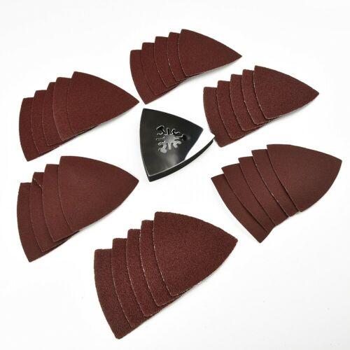 31-teilige Klingen Multi-Tool Dreieckige Delta-Schleifpapiere Oszillierendes