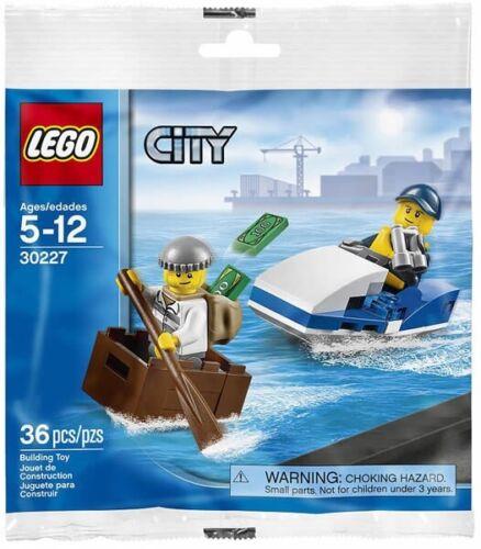 LEGO ® Sets-City 30227-Police Jet Ski Course poursuite