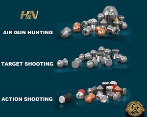 H&N Pellets .177/4.50mm & .22/5.50mm  for Hunting Plinking Targets Shooting & +