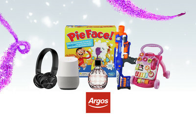 Last minute gifting ideas from Argos