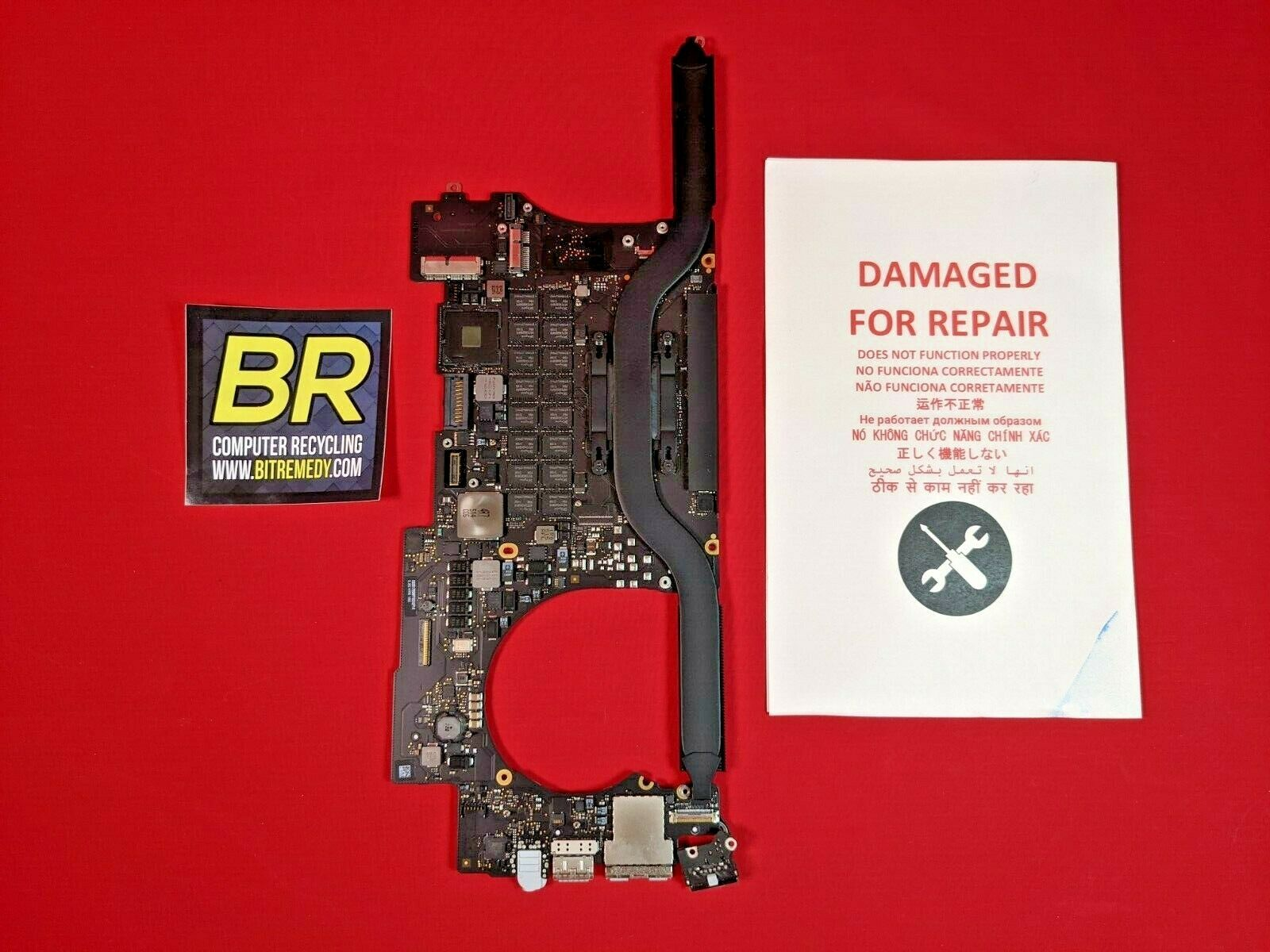 *FOR REPAIR-SLOW* Apple MacBook Pro 15