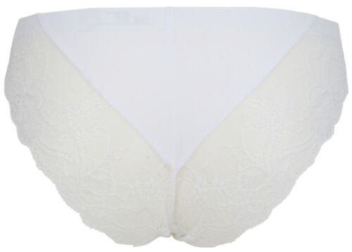 Ex Store Lace Trimmed Back Brazilian Knickers