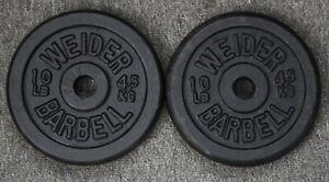 Lifting Weight Weider 10 Lb