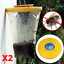 Fly Bag Piège Catcher Insect Killer Bug Guêpe vole Pest Control Insect trappeur