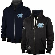 North Carolina Tar Heels Reversible Fleece Hooded Jacket – XL Free Shipping