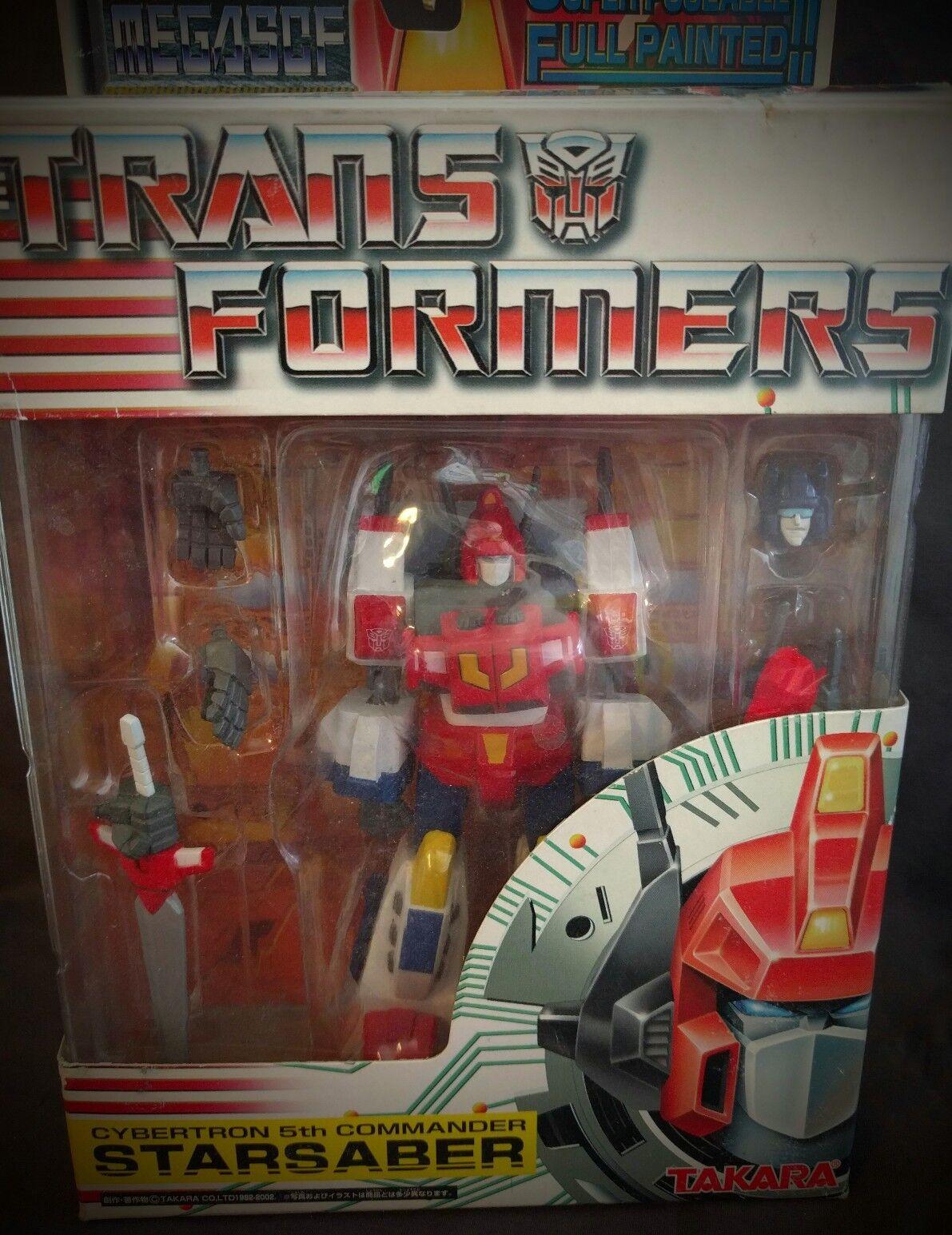 MEGASCF Transformers Cybertron 5th Commander STAR SABER Takara MISB, RARE