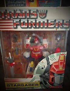 MEGASCF-Transformers-Cybertron-5th-Commander-STAR-SABER-Takara-MISB-RARE