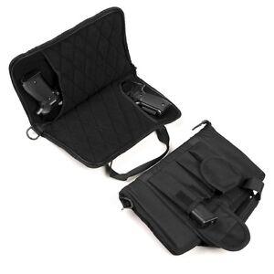 Borsa custodia porta pistola doppia imbottita 101 INC valigetta porta caricatori