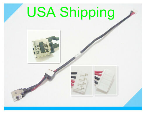 Original DC power jack plug in cable harness for Lenovo ideapad G550 DC301007200
