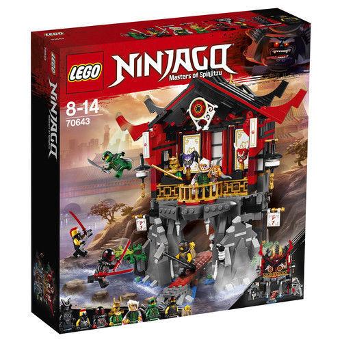 Lego Ninjago Templo De La Resurrección Set 70643 Ax Ax Ax 75dcad