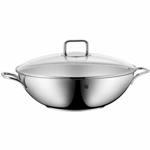 WMF Select It chinoise avec couvercle en verre 32 cm-pour tous types de cuisinières adapté 1