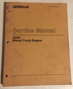 Caterpillar-OEM-3208-2z1-up-Diesel-Truck-Engine-Service-Manual-Cat-Original