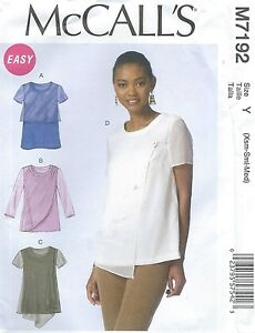 McCall-039-s-7192-Misses-039-Tops-Sewing-Pattern