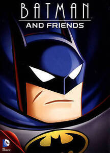 Batman-and-Friends-DVD-DC-Comics-Original-NEW-and-Sealed-FREE-Shipping