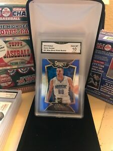 2014-Select-Aaron-Gordon-91-Blue-Silver-Prizm-Rookie-GMA-GEM-MINT-10