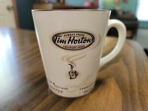 Tim Hortons 2005 Always Fresh Coffee Mug Cappuccino Mocha Limited Edition #005