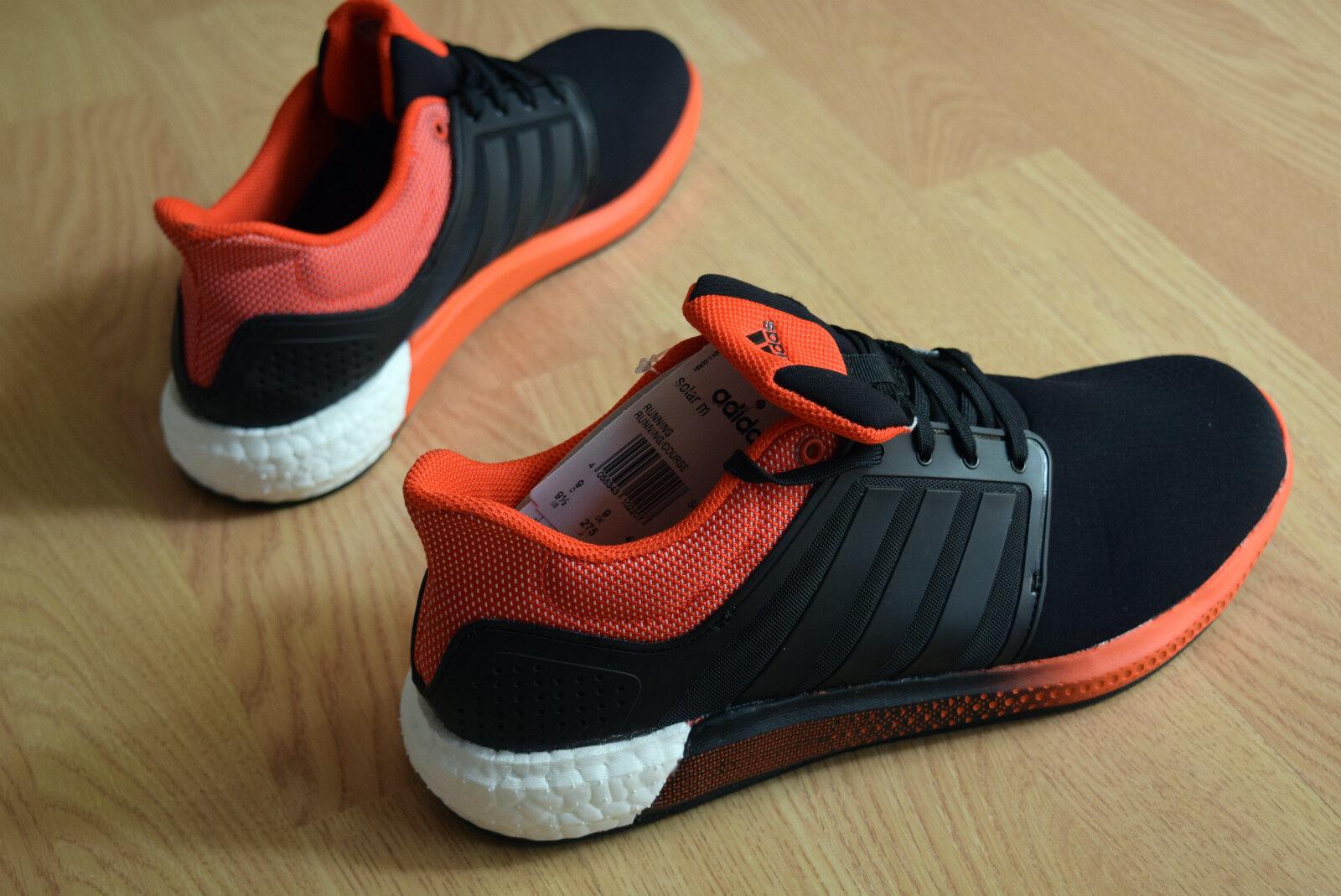 ba1de299d791d adidas Solar Boost M Running Shoes SNEAKERS Trainers Men Black ...