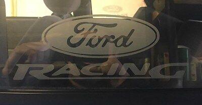 TAZ FORD RACING STICKERS Funny Car Window Ford Vinyl Sponsor Decals Bumper Van