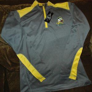 online retailer 4b5ef 4c932 Details about Oregon Ducks 1/4 zip pullover jacket Women's medium NEW with  tags running gear