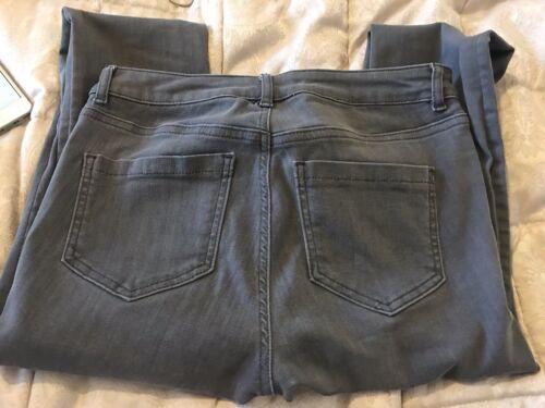 scuro grigio in 8r velluto da maglina moro Jeans donna in taglia qXAxIBZP6w