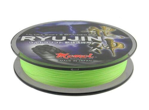Momoi Ryujin Lime Green 0,06-0,23mm 150m geflochtene Schnur aus Japan