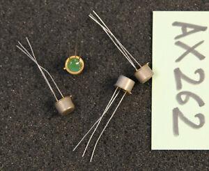 Lot de 4 x transistor 2N527  SESCOSEM Thomson  ( AX262 )
