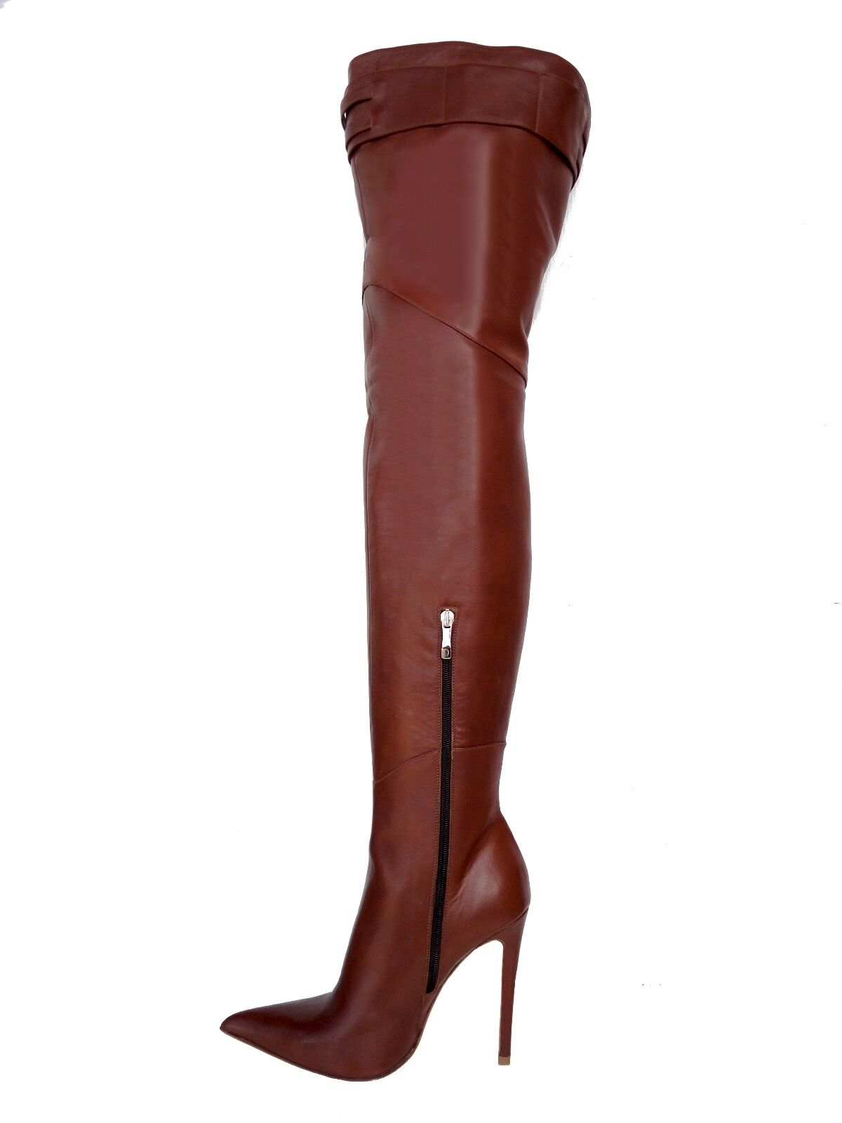 CQ Couture Custom Over the Knee Boots Stiefel Boots Gold