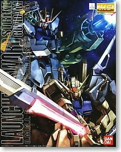 BANDAI MG 1/100 GAT-X105 LAUNCHER / SWORD STRIKE GUNDAM MG Plastic Model Kit