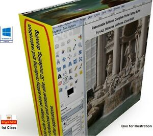 Photo-digital-image-photography-editing-drawing-software-Suite-PRO-CS-CS6-CD