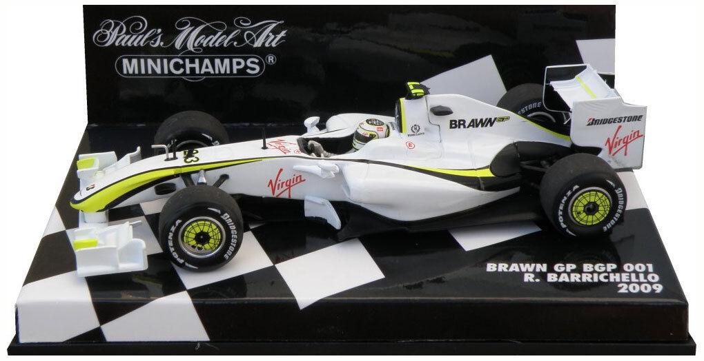 grandes ofertas Minichamps Brawn GP GP GP BGP 001 2009-Rubens Barrichello escala 1 43  mejor opcion