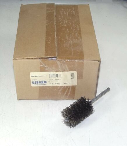 "1-1//2/"" x 0.0104/"" Osborn 51038 Double Spiral Internal Cleaning Tube Brush Dia"